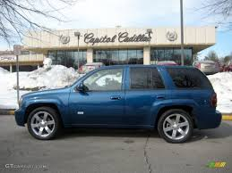 2006 Superior Blue Metallic Chevrolet TrailBlazer SS AWD #26210179 ...