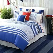 red white and blue bedding elegant maritime bedroom with within nursery crib