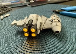 Bandai B Wing Lighting Kit Bandai Hobby Star Wars B Wing Starfighter 1 72 Scale Model