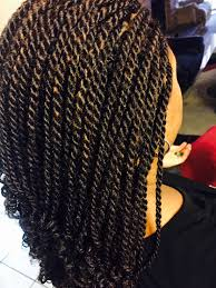 Kinky Twist Hairstyles 30 Hot Kinky Twists Hairstyles To Try In 2017 Burgundy Highlights