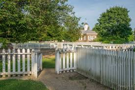 photo essay the charm nostalgia of colonial williamsburg s many  fence courthouse