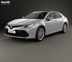 Toyota Camry XLE hybrid 2017 3D model - Hum3D