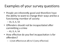 presentation survey examples survey research examples of your survey questions people are