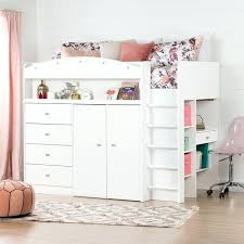 bunk bed with desk ikea. Bed With Desk South Shore Tiara White Twin Loft Murphy Ikea Bunk