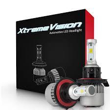 XtremeVision 7G <b>72W 16,000LM</b> - <b>H13</b>/<b>9008</b> Dual Beam LED ...