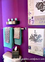 purple bathroom color ideas. Delighful Ideas BathroomHalf Bathroom Colors Also With Astounding Photograph Colorful Ideas  Color Did You To Purple T