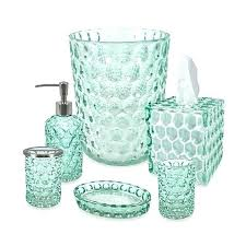 blue glass bathroom accessories. Bed Blue Glass Bathroom Accessories A