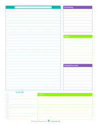 Daily Planner Printables Daily Planner Printables Personal Planner