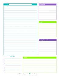 Planner Sheet Personal Planner Free Printables
