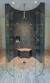 modern shower head recessed bathroom lighting. dallas shower remodel cost bathroom contemporary with metallic mosaic tile tiles glass modern head recessed lighting