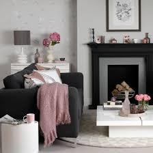 black sofas living room design living room