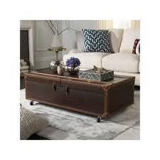 wonderful wine storage trunk coffee table safavieh faux crocodile rack grey brown temperature cabinet chart idea