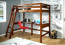 ikea full size loft bed full size loft bed with desk underneath the wooden floor children
