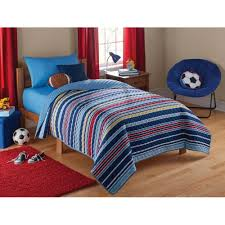 mainstays duvet cover and sheet set design mainstays kids quilted solid bed in a bag