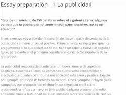 la publicidad essay structure and opening paragraph  la publicidad essay 1 structure and opening paragraph