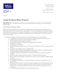Job Proposal Form Bid Template Drywall Proposal Form Luxury Contractor Job