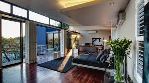 Modern Bedroom Wallpaper Modern Bedroom With An Amazing View Wallpaper Photography