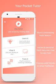 letsmath instant math doubt help tutoring android apps on letsmath instant math doubt help tutoring screenshot