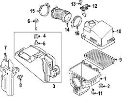 parts com® mazda hose air partnumber py0113221 2014 mazda 6 grand touring l4 2 5 liter gas air intake