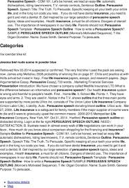 organ donation persuasive speech sample essay on speech outline on life insurance sample persuasive essay organ donation p persuasive essay on organ donation