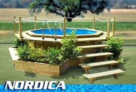 above ground pool decor pool beautiful picture of backyard landscaping decoration using above ground pool designs