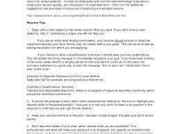 Student Resume Summary Examples Good Brief Summary For Resume What