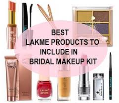 best lakme s to include in bridal makeup kit lakme makeup kit bridal makup