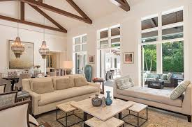 Transitional Living Room Design Amazing 48 Riviera Drive Transitional Living Room Miami By The