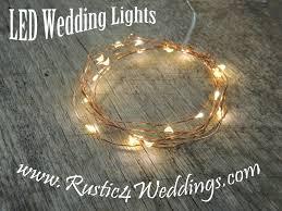 rustic wedding lighting ideas. LED Fairy Lights Rustic Wedding Lighting Ideas I