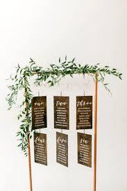 Modern Hanging Wedding Seating Chart Ideas Emmalovesweddings