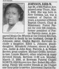 Edith Morris Johnson - Newspapers.com