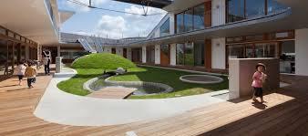 Japan School Design Greenery Infused Nursery School In Japan Brings Children