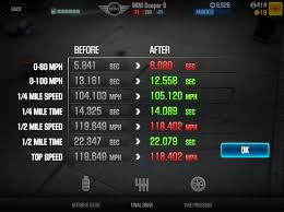 Csr2 Tuning Chart How To Tune Your Car In Csr Racing 2 Tires Nitro And