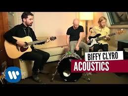 biffy clyro stingin belle warner akustik