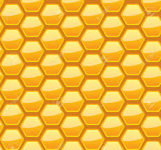 Beehive Pattern Custom Seamless Honeycomb Pattern Vector Illustration Eps48 48 Layers