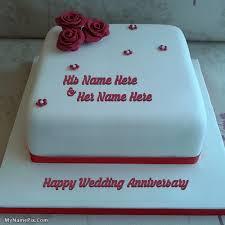 Write Name On Birthday Cake Anniversary Cakes Profile Pix