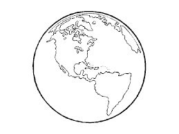 Small Picture Earth Coloring Pages