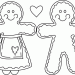 Small Picture Online Gingerbread Man Coloring Pages ColoringPagehub