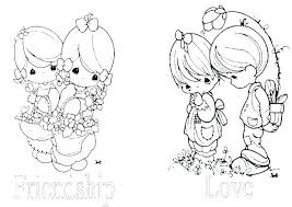 Coloring Pages Precious Moments Print Dr Schulz