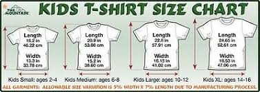 Child T Shirt Size Chart By Age Vampire Shark Kids T Shirt From The Mountain Big Face