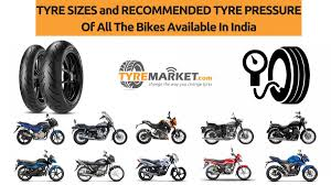 Harley Davidson Tire Pressure Chart Indian Bike Tyre Sizes And Their Recommended Tyre Pressure