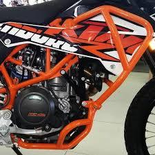 rumbux orange protection set ktm 690 enduro r smc 2012 2017 ktm