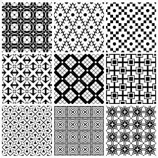 Simple Patterns Enchanting Simple Black And White Patterns By Tiax GraphicRiver