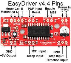 easydriver 4 wire stepper motor driver jungletronics medium