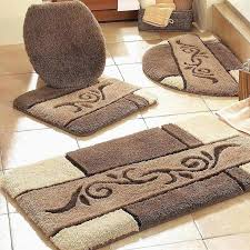 gold bathroom rugs best of contour bathroom rug
