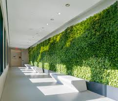 green office design. Extell LES Sales Office Green Design