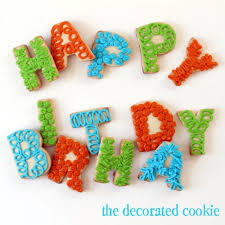 Champagne Glass Birthday Cupcake And Other Birthday Party Cookies