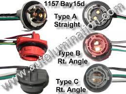 automotive car truck light bulb connectors sockets wiring bay15d 1157 2357 plastic twist lock pigtail bulb socket connector wiring