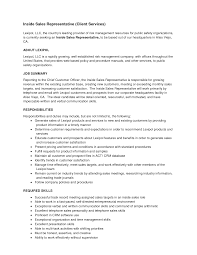 Inside Sales Resume Sample Resume Samples