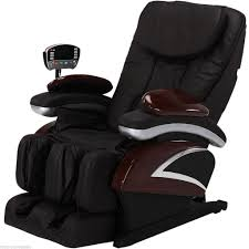electric full shiatsu brown massage chair recliner stretched foot rest 06c 799